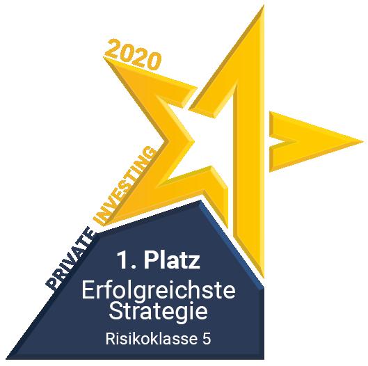 Private Investing Auszeichnung erfolgreichte Strategie 2020